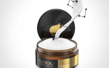 die beste Haarmaske mit Keratin Nanoil
